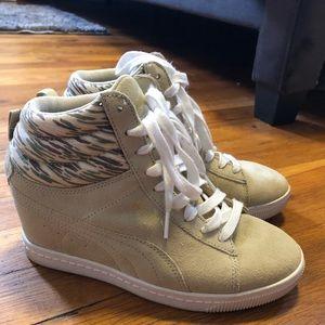 Puma wedge sneakers